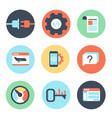 search engine optimization internet marketing vector image