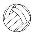 Sport ball icon design vector image