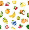 Watercolor fruits vector image vector image