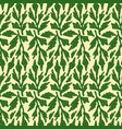 botanical leaves seamless pattern design seamless vector image vector image