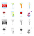 design liquor and restaurant logo set vector image vector image