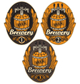 Label with a beer vector | Price: 1 Credit (USD $1)