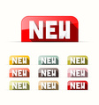 New Stickers - Labels - Tags Set vector image vector image