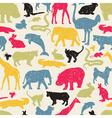 Wildlife seamless vector image