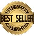 Best seller golden label vector image