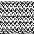 Abstract black and white grunge seamles pattern vector image