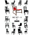 Designer chair set