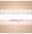 garter vector image vector image