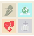 Logos for Church vector image vector image