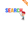 Magnifier Enlarges for search concept - - EP vector image