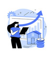 property market abstract concept vector image vector image