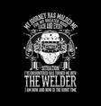 welder vector image vector image