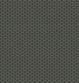 Dark brick wall seamless background vector image