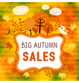 Autumn sales 01 vector image vector image