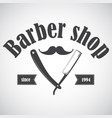 barber28 vector image vector image