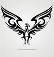 Eagle Bird Tattoo Design vector image vector image
