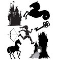 fairy tale vector image vector image