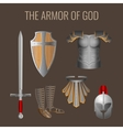 Long sword of spirit readiness shield armour