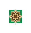 mosque icon design vector image