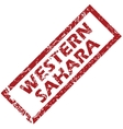 New Western Sahara rubber stamp vector image vector image