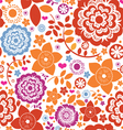 Seamless flower paradise vector | Price: 1 Credit (USD $1)