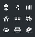 set religion icons vector image