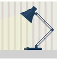 Table lamp flat vector image vector image