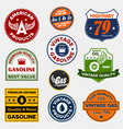 Vintage gasoline signs vector | Price: 3 Credits (USD $3)