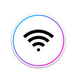 wi-fi wireless internet network symbol icon vector image