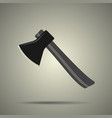 axe icon flat style isolated vector image