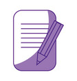 business document symbol vector image
