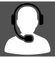 Call Center Operator Icon from Commerce Set vector image vector image