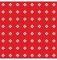 polka dot floral pattern vector image