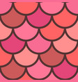red scales seamless pattern vector image