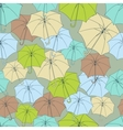 Seamless pattern with cute umbrellas vector image vector image