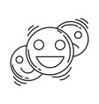 ecommerce feedback icon hand drawn icon set vector image