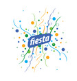 holiday logo vector image vector image