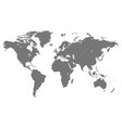 original abstract world map created from parallel vector image vector image