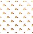 Slide house pattern cartoon style vector image