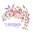 The Lavender sign vector image vector image
