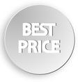 best price sticker button sale vector image