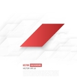 Abstract geometric shape from gray diagonal vector image