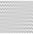 Abstract silver waves pattern vector image