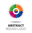Business Abstract Circle logo vector image vector image