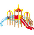 child playground vector image