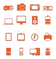Electronic Technology Device Icon Basic Style vector image vector image