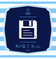 floppy disk icon graphic elements for your design vector image