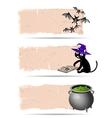 Halloween sticker vector image