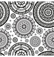 seamless pattern in ethnic style vector image vector image