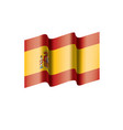 spain flag vector image vector image